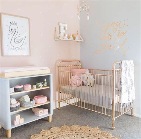 curtains for baby girl room rose gold crib baby pinterest rose gold gold and roses