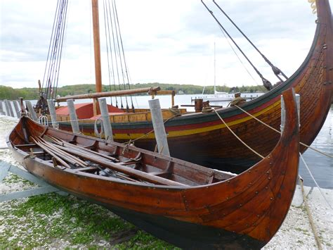 viking boats doing maintenance on a viking boat and fika hear the