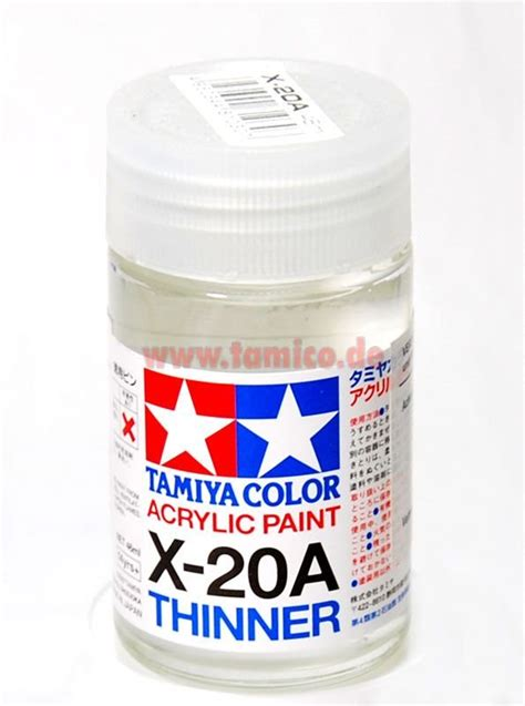 Tamiya Acrylic Thinner 46ml tamiya acryl x 20a verd 252 nner acrylic thinner 46ml