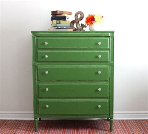 Painted Green Dresser by Green Boy Dresser Painted With Milk Paint