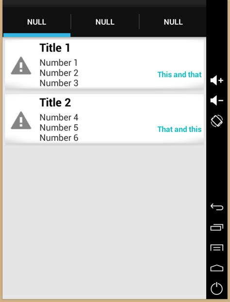 Android Play Store Like Listview Card Style 9 Patch With Listview Android Stack