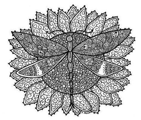 dragonfly mandala coloring pages 17 best images about coloring pages on
