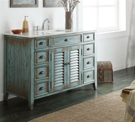 Cottage Style Vanities For Bathrooms by 47 Attractive Cottage Style Abbeville Single Sink