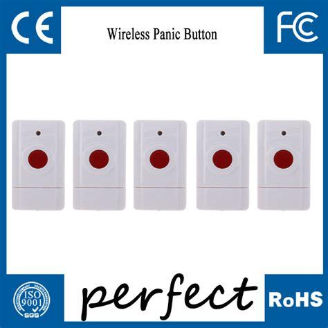 free shipping 5pcs wireless panic button urgent button