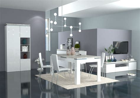 mobili sala da pranzo moderni tavolo moderno bianco messico mobile per sala da pranzo
