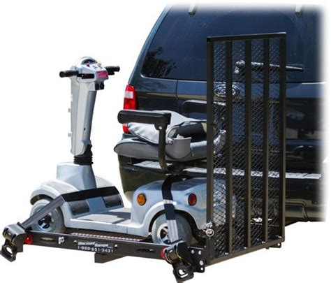 folding power wheelchair scooter carrier yahoo