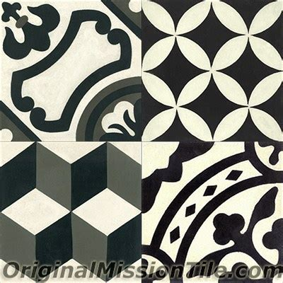 Patchwork Cement Tile - cement tile in stock patchwork original mission tile