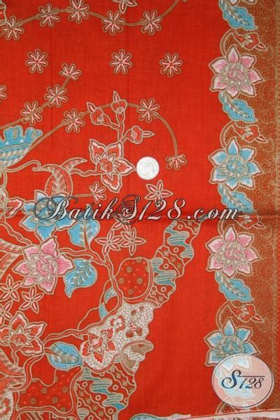 Sprei Katun Motif 160x200 Seprai Mewah Cantik Keren batik orange keren motif modern cantik untuk dress batik wanita muda dan remaja putri masa kini
