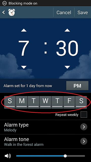 fix  alarm clock issue android