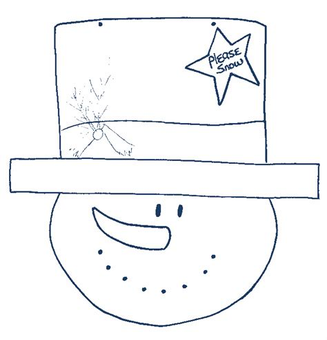 snowflake pattern snowman printable snowflake cut outs snowman craft patterns and