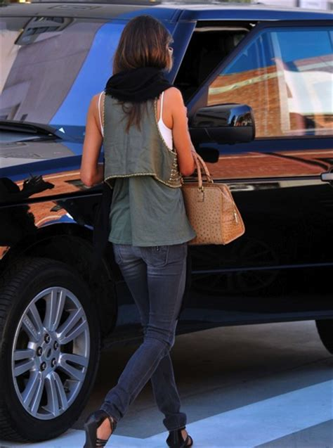 Alessandra Ambrosio Cleans Car by Alessandra Ambrosio S Cars Cars