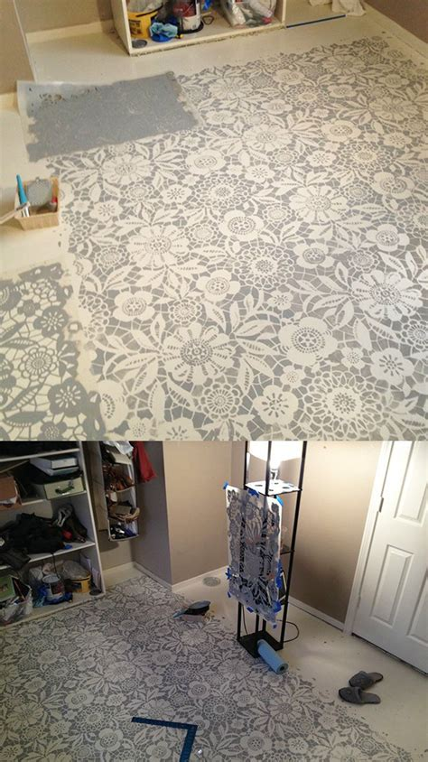 Decorative Floor Painting Ideas Tips On Painting A Concrete Floor Diy Projects Craft Ideas How To S For Home Decor With