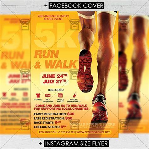 5k flyer template 5k marathon premium a5 flyer template exclsiveflyer free and premium psd templates