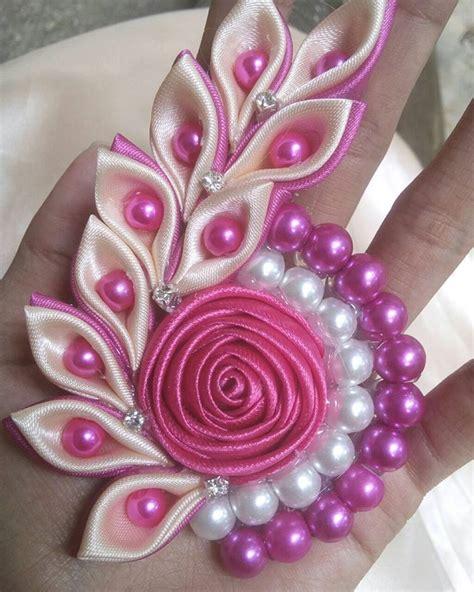 Bross Grosgrain Cantik bros kanzashi snail best seller item rp 20 000 bross