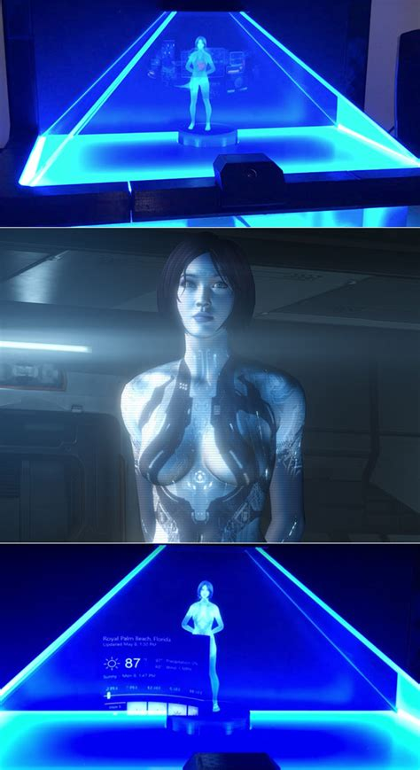 Cortana What Is A Scallop | microsoft s cortana gets transformed into a halo style