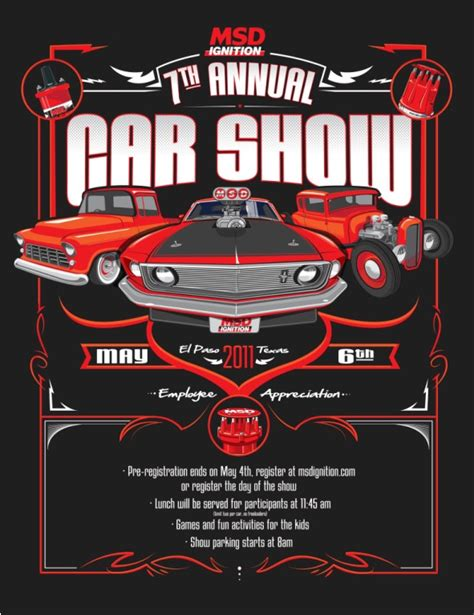 car show flyer template car club on vintage cars flyer template and