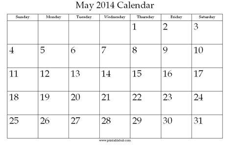printable calendar uk 2014 image gallery may 2014