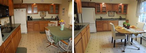 before and after home staging designs
