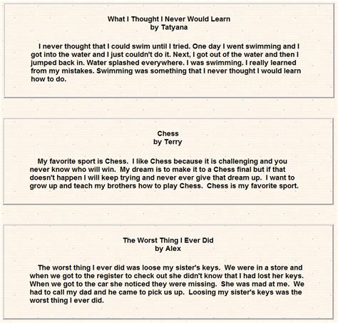 Essay For 3rd Class Student by Writing Prompts 3rd Grade Students