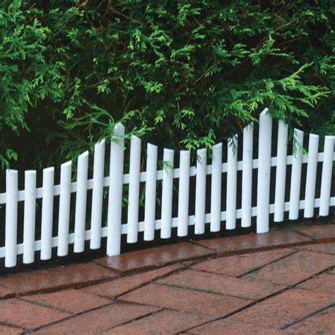 Landscape Edging Fence Emsco Dackers Fence Landscape Edging White Lawn
