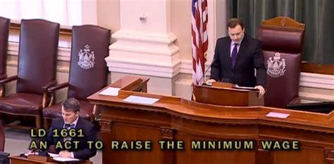 house votes maine house votes to advance minimum wage referendum beacon