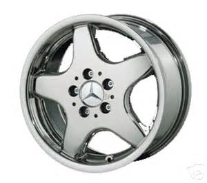 Mercedes 16 Inch Rims Mercedes 16 Inch Chrome Amg Style Wheel Type Amg