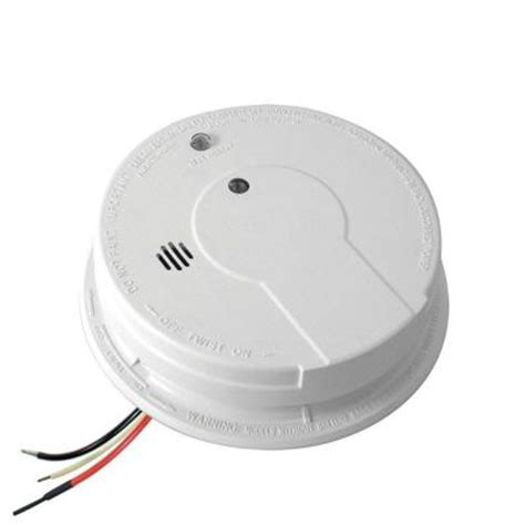 kidde hardwire 120 volt interconnectable smoke alarm