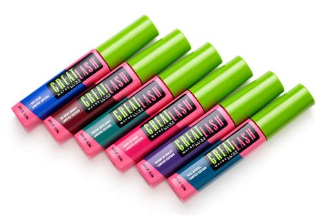 colored mascara clearance alert maybelline great lash color mascara as
