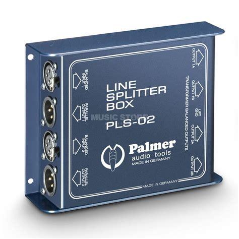Sem Pls 2 In 1 B palmer pls 02 line splitbox 1 to 3 2x trafo 1 1