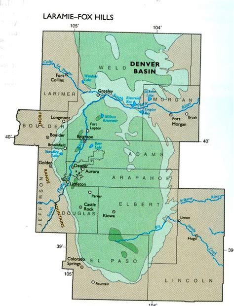 colorado aquifer map maps of laramie fox aquifer