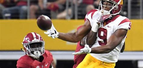 Usc Vs Georgetown Mba by Usc Wr Juju Smith Schuster Storms Out Of After Fight