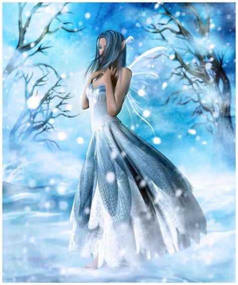 fairytale snow 40 beautiful fairy illustrations and manipulations