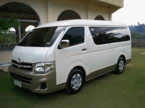 City Toyota Rental Northern Mindanao Car Rental Rental Toyota Gl Grandia