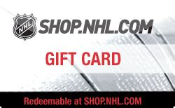 Nhl Gift Card - nhl shop gift card discount 14 80 off
