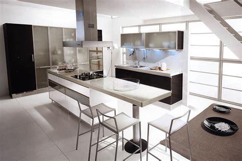 inspiring black and white kitchen design with black kitchen island kitchen design black and white kitchen design ideas 23