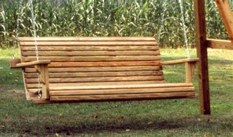 woodwork garden bench swing plans  plans