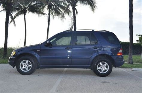 books on how cars work 2001 mercedes benz s class seat position control find used 2001 mercedes benz ml320 blue tan non smoker clean suv new tires books in pompano