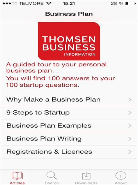 business plan template for app business plan template for entrepreneurs startups on the