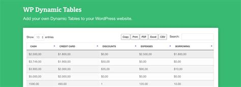 wordpress top bar plugin best table plugins for wordpress to organize data wpexplorer