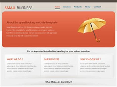Small Business Free Website Template Free Css Templates Free Css Free Small Business Website Templates