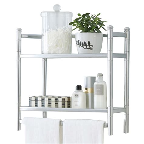 shop style selections 20 75 in steel wall mounted shelving