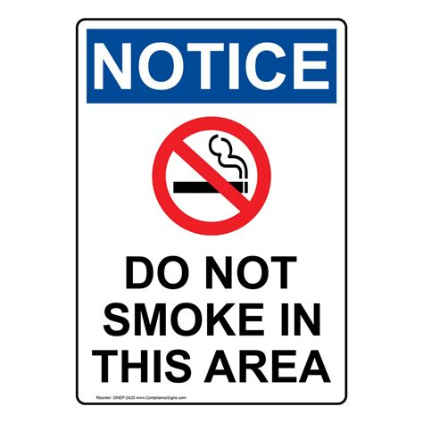 no smoking signs and labels osha warning no smoking signs and labels osha notice