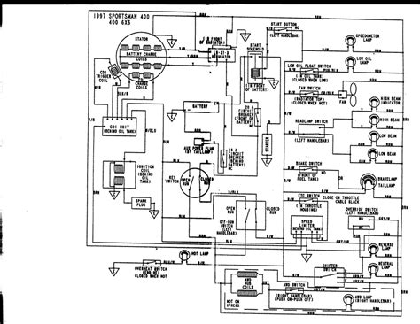 polaris sportsman 500 wiring diagram for headlight