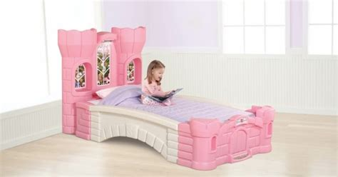 step 2 castle bed step 2 princess palace twin bed kids furniture