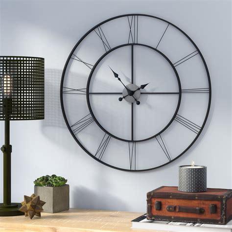 oversized  black decorative wall clock reviews