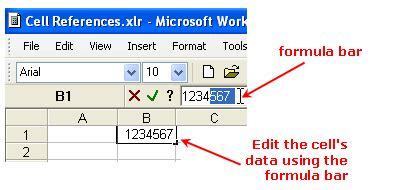 Microsoft Works Spreadsheet Tutorial by Entering Data In Microsoft Works Spreadsheets