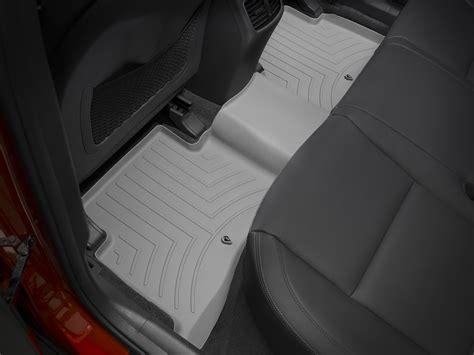 weathertech floor mats floorliner for kia sportage 2017 grey ebay