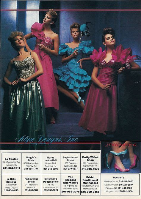 popular 80s prom color the gallery for gt ugly 80s bridesmaid dresses
