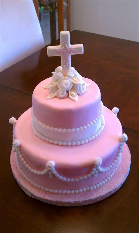 Babys Baptism Cake Adelyn Cake  Ee  First Ee  Mmunion Cakes