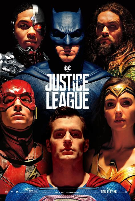 justice league film schedule superman finally appears in new justice league poster and